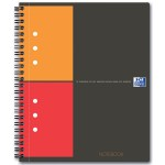 Oxford INTERNATIONAL Notebook Connect, met scanbare pagina s, 160 bladzijden, A5+, geruit 5mm