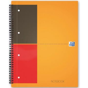 Oxford INTERNATIONAL Notebook Connect, zonder scanbare pagina s, 160 bladzijden, A5+, gelijnd