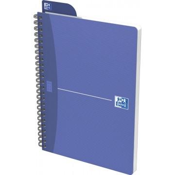 Oxford OFFICE Essentials spiraalblok, 100 bladzijden, A5, geruit 5mm