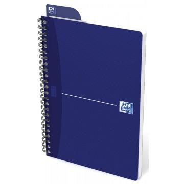 Oxford OFFICE Essentials spiraalblok, 180 bladzijden, A5, geruit 5mm