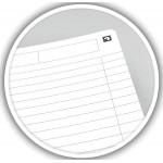 Oxford OFFICE Essentials spiraalblok smart black, 180 bladzijden, A5, gelijnd
