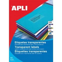 Transparante etiketten