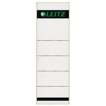 Leitz rugetiketten 6,1x19,1cm, grijs