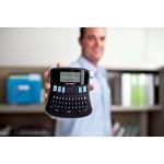 Dymo beletteringsysteem LabelManager 210D kit, qwerty, inclusief D1 tape zwart/wit, draagtas en oplader