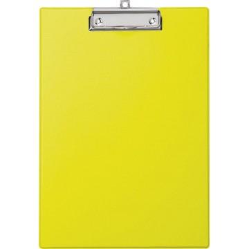 Maul klemplaat, uit PP, voor A4, geel