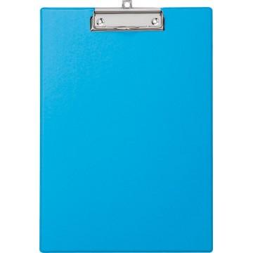 Maul klemplaat, uit PP, voor A4, lichtblauw