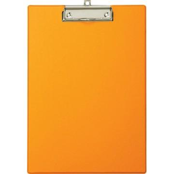 Maul klemplaat, uit PP, voor A4, oranje