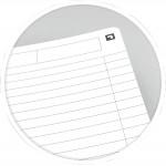 Oxford schrift Office Essentials 17,6 × 25cm, 90 vel, gelijnd