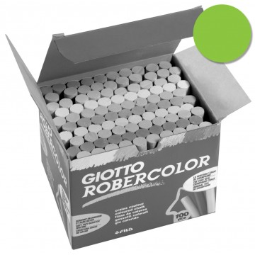 Giotto krijt Robercolor groen