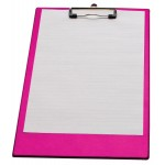 LPC klemmap voor folio/A4, neonroze
