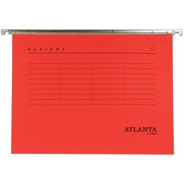 Atlanta hangmappen Alzicht Spectrum A4, V-bodem, rood