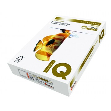 IQ Smooth printpapier A4, 80gr, pak a 500 vel