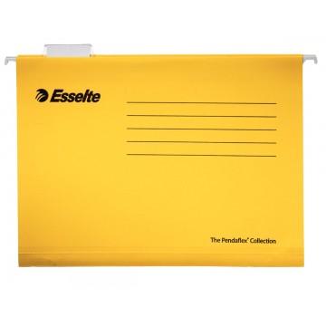 Esselte Classic hangmappen voor laden,tussenafstand 365mm, geel