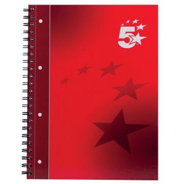 5 Star business spiraalblok, A4+, 160 bladzijden, 80 gram