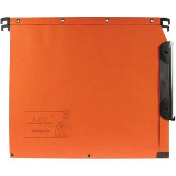 L oblique hangmappen voor kasten AZV bodem 30mm, oranje