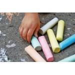 Havo stoepkrijt Chalk doos a 6 stuks