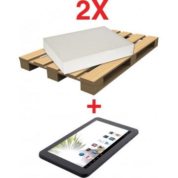 Actie pallet papier 2 X 2729P1 + 1 X tablet GRATIS (P74E8G)