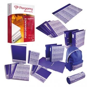 Actie Pergamy: 1xkopieerpapier Essential PALLET (200 riemen/pallet) + GRATIS Pergamy Ethnic BTS pakket