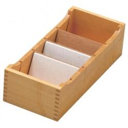 Systeemkaartenbakken uit hout