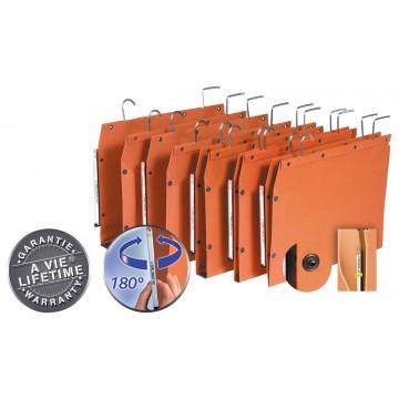 L Oblique hangmappen voor kasten TUB 330x250mm, bodem 50mm