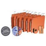L Oblique hangmappen voor kasten TUB 350x250mm, V-bodem