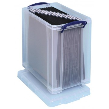 Really Useful Box opbergdoos 25 liter, transparant